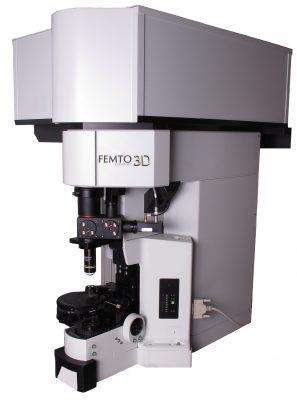 microscopio a due fotni Femtonics, Femto3D AO, acustic Optics, neuroscienze, dedriti, neuroni