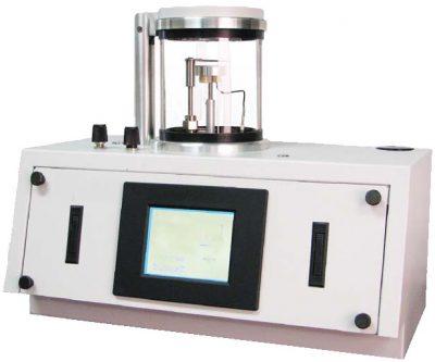 metallizzatore, depositore di film sottili carbon rods e fibre e metalli preziosi per preparare comapioni per microscopi elettronici