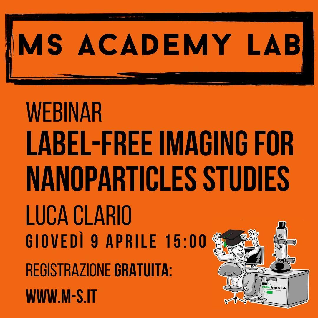 Webinar: Label-Free imaging for Nanoparticles studies