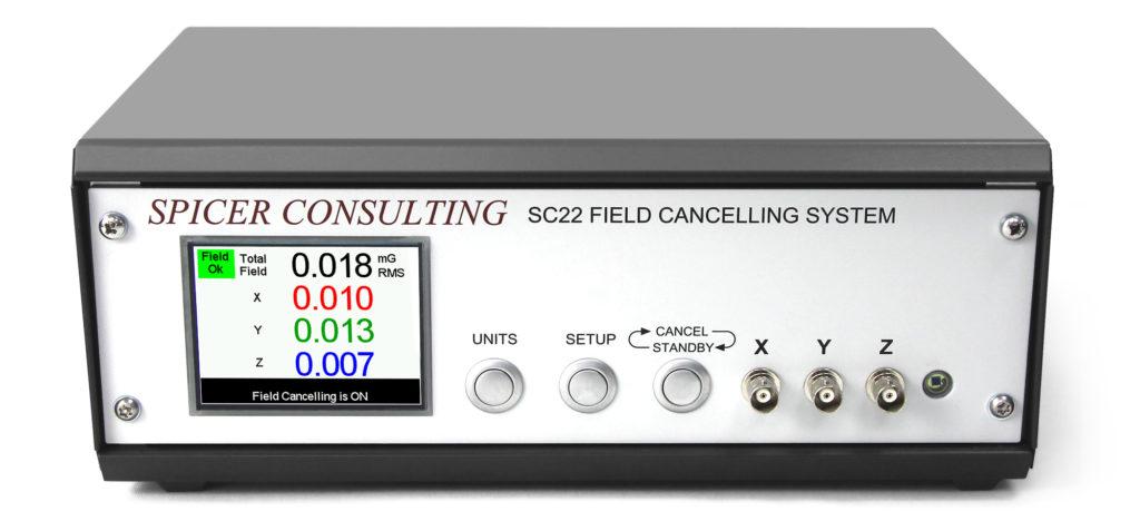 sc22 spicer consulting, annullamento campi magnetici e vibrazioni